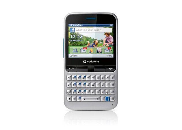 Vodafone 555 Blue, smartphone básico por y para Facebook