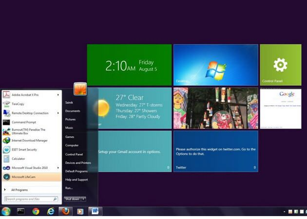 Claves de activación de producto para la preview de Windows 8