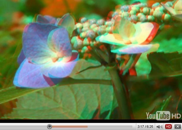 YouTube comienza a convertir sus vídeos a 3D