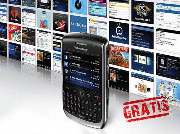 Aplicaciones premium gratis para usuarios BlackBerry como compensación