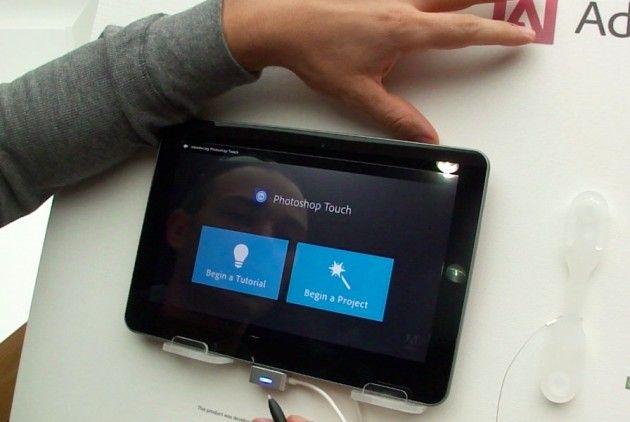 Prototipo tablet Samsung con Stylus con reconocimiento de presión