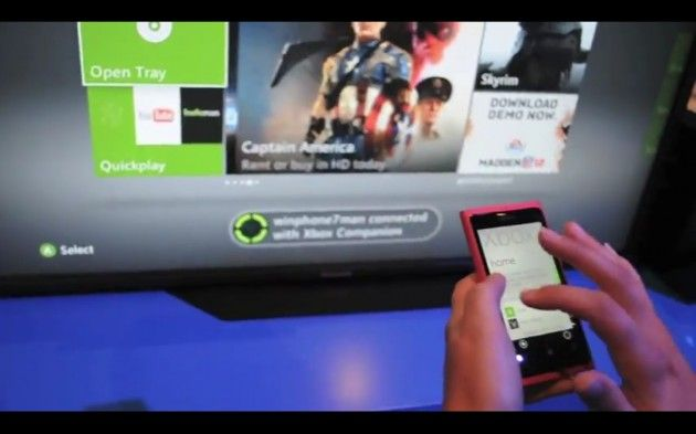 Integración de Windows Phone con Xbox LIVE! (VIDEO)