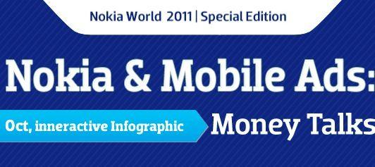 Nokia: primer puesto en efectividad de publicidad móvil (INFOGRAFIA)