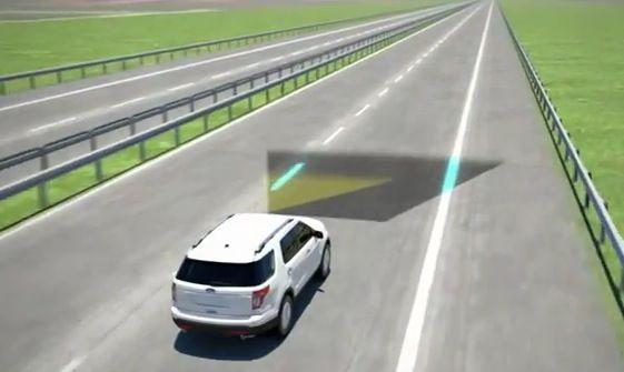 Ford Driver Alert System: sistema de seguimiento de carril (VIDEO)