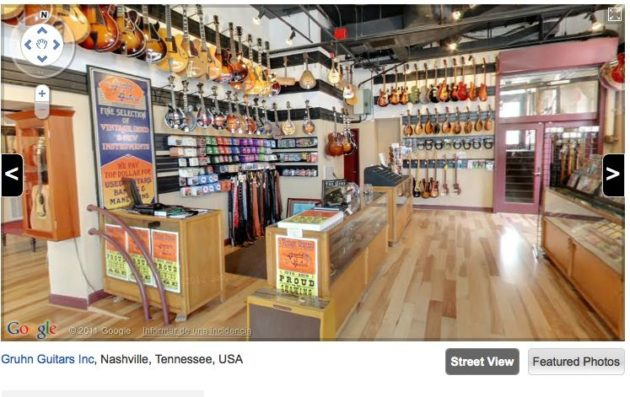 Google Street View ya nos muestra el interior de las tiendas