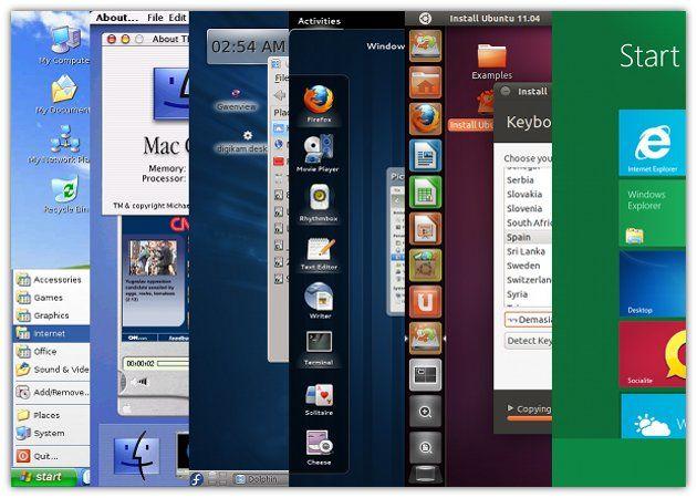Pasado, presente y futuro de la interfaz de escritorio de PC
