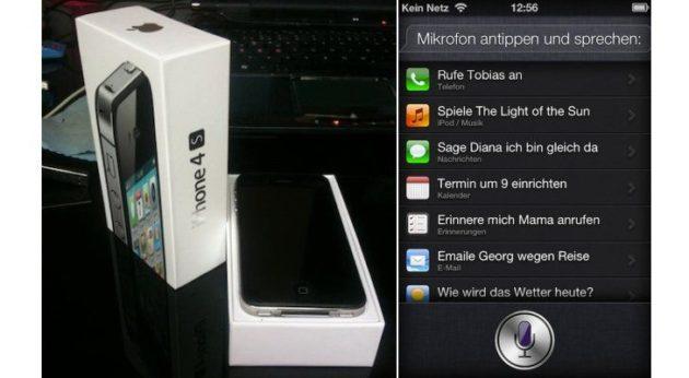 Mejoras de iPhone 4S frente a iPhone 4 (FOTOS)