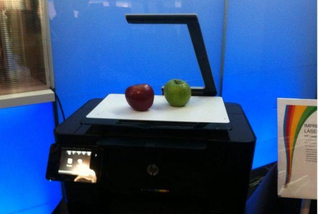 HP Laserjet TopShot, escaneo 3D para todos los públicos