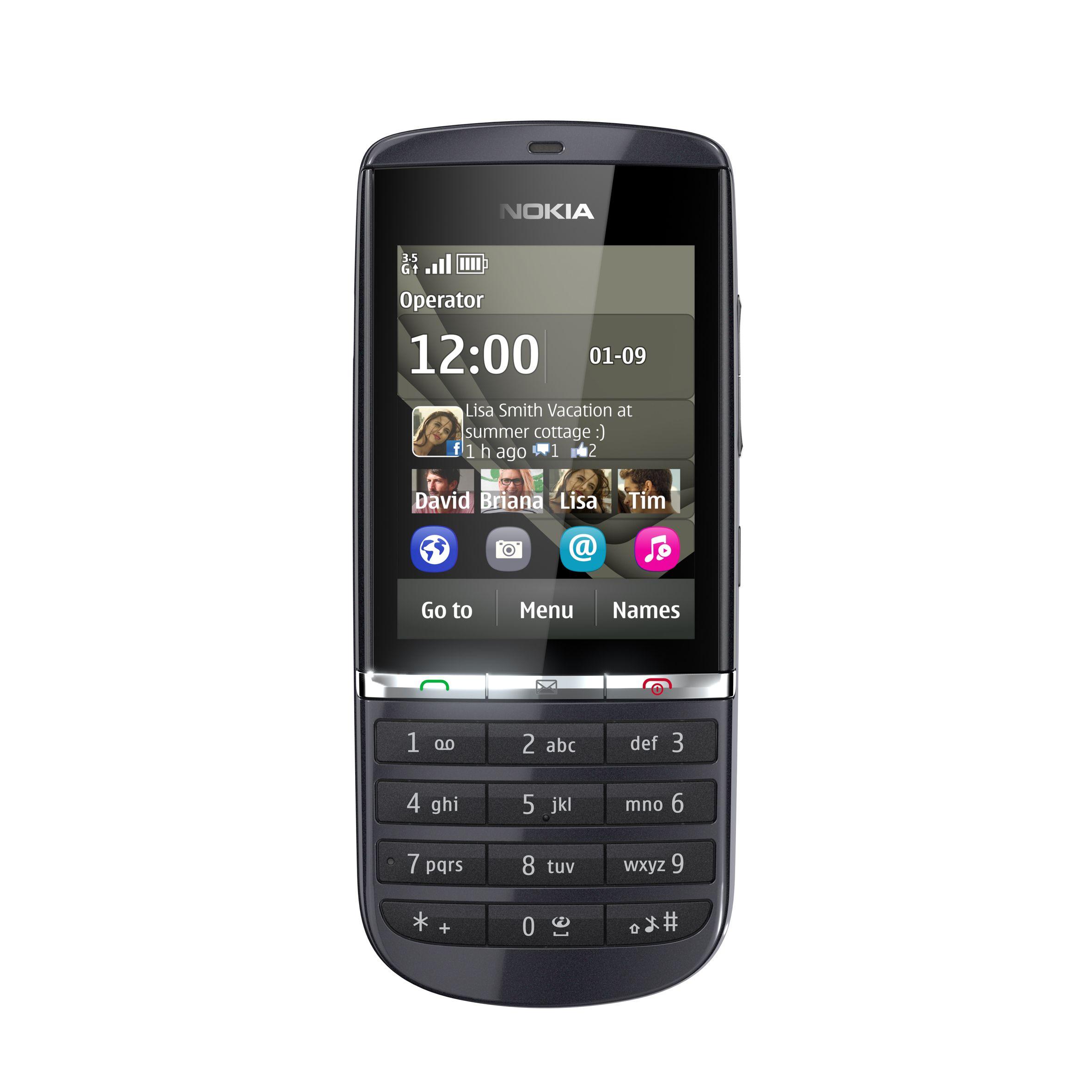 Telefon mobil NOKIA X3 02 Touch and Type NOKIA Telefoane GSM ...