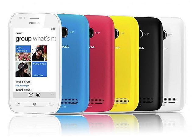 Nokia Lumia 710, el hermano pequeño del Lumia 800
