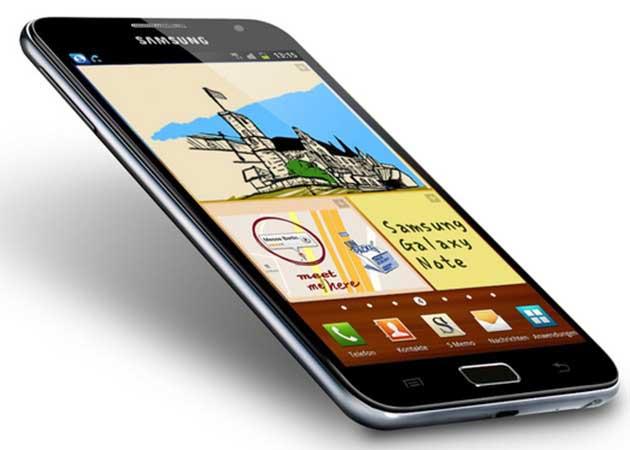 Componentes del smartphone Samsung Galaxy Note, impresionante