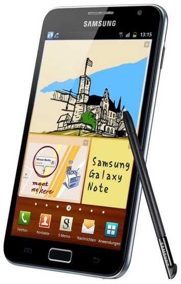 A la venta en Europa el smartphone gigante Galaxy Note N700 de Samsung 31