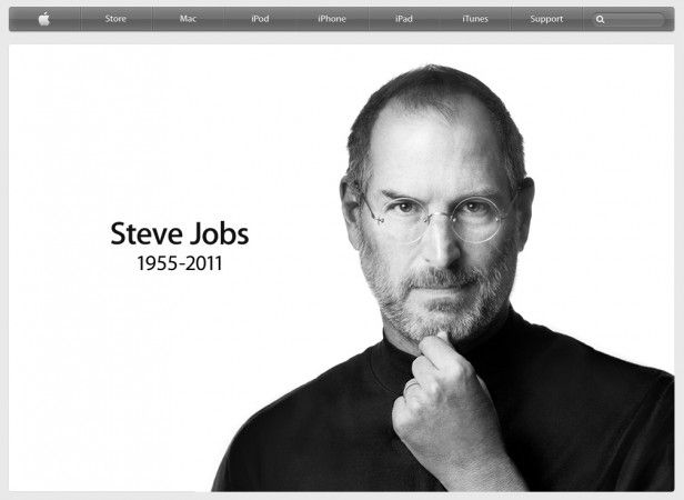 Steve jobs apple 616x450 Steve Jobs ha muerto