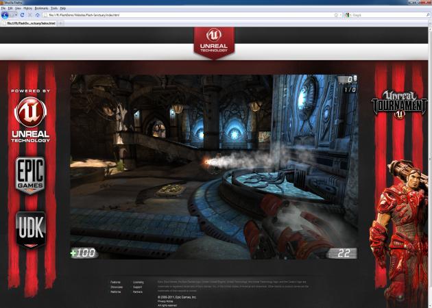 El Unreal Engine 3 llega a Flash Player 11
