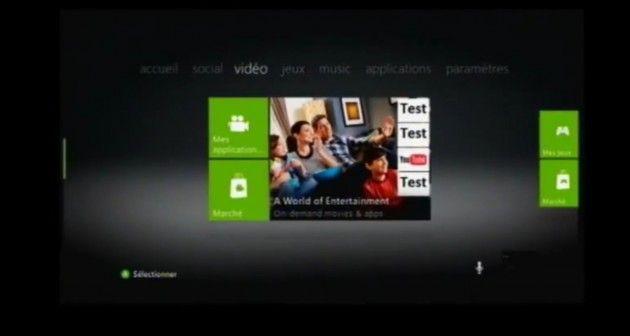 Se filtra un vídeo con el aspecto del nuevo Dashboard de la Xbox 360
