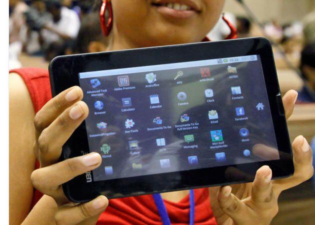 Aakash: el tablet indio de 35 dólares se presenta con Android 2.2