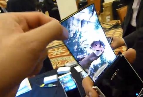 Samsung lanzará un móvil con pantalla flexible el próximo año
