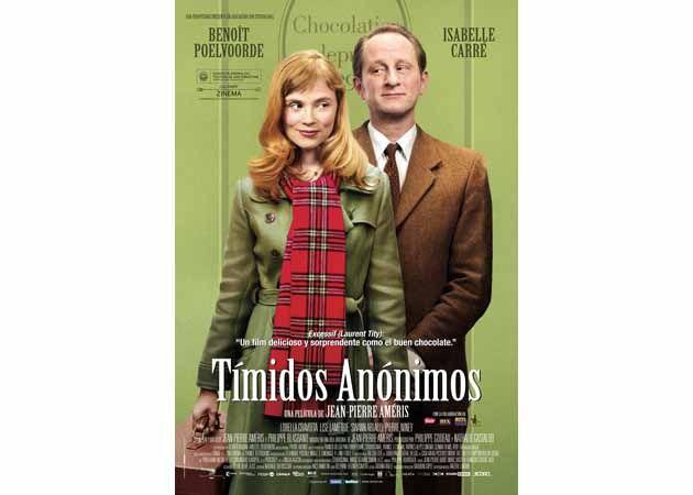 Ganadores de las entradas para la película Tímidos Anónimos
