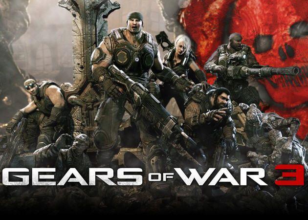 Gears of War 3 vende 3 millones de copias en su primera semana a la venta