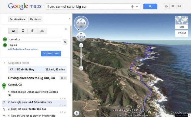 Ya puedes ver Google Maps como si lo hicieras desde un helicóptero