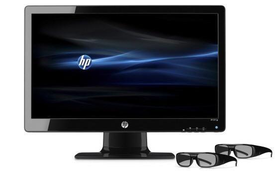 Hewlett Packard se sube al 3D con su monitor HP 2311gt