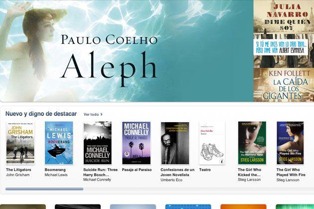 Apple abre la iBookstore en España