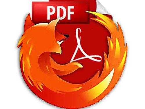 Primer vistazo al visor de PDF integrado en Firefox -PDF.js-