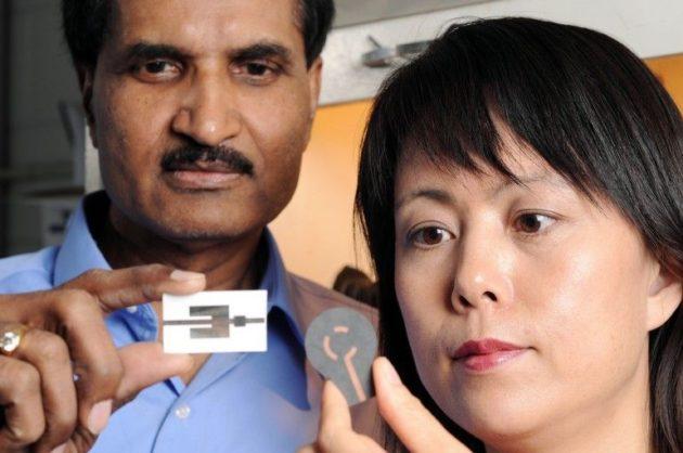 Científicos crean detectores de bombas impresos en papel