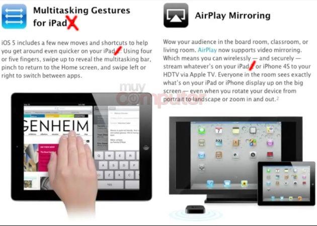 Activar gestos multitáctiles y vídeo mirroring en iPad sin jailbreak