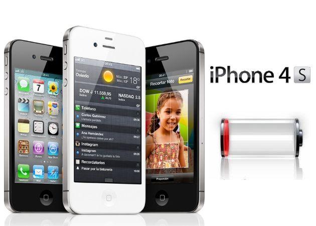 Apple busca solución a problemas de autonomía en iPhone 4S