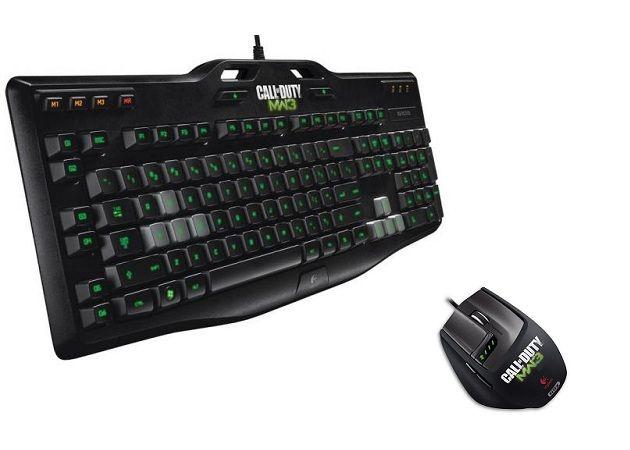 Ratón y teclado CoD MW3 Logitech G9X y G105
