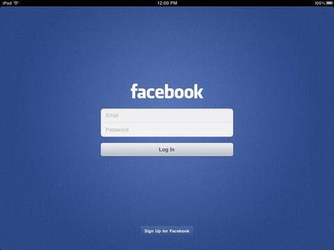 Facebook llega finalmente como aplicación a iPad