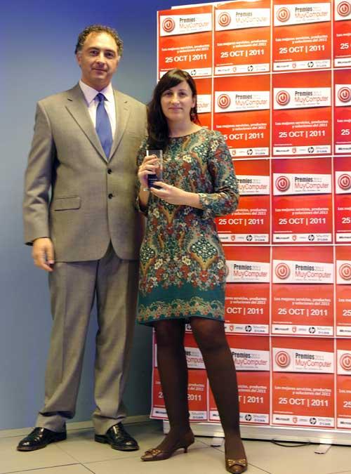 Pilar Nieto, Premios MuyComputer 2011