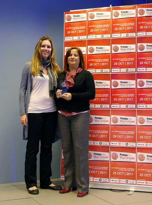 premiosMC 05 belenmartinez Fiesta de entrega de los Premios MuyComputer 2011