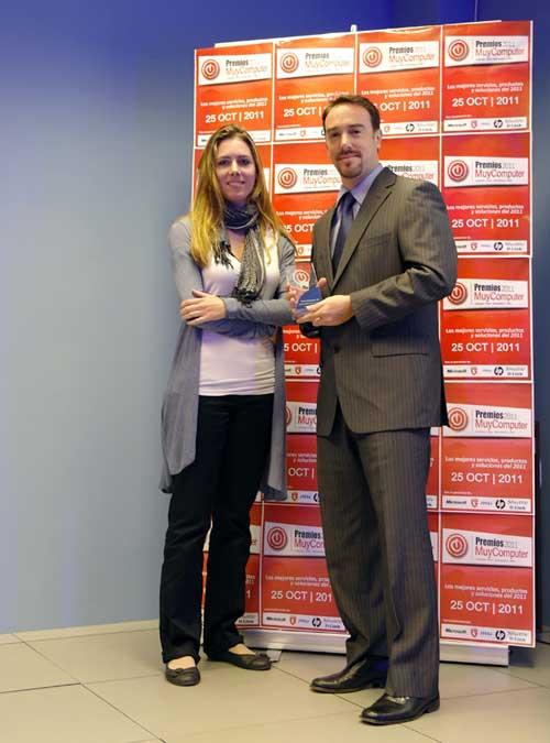 premiosMC 07 davidnegrete Fiesta de entrega de los Premios MuyComputer 2011