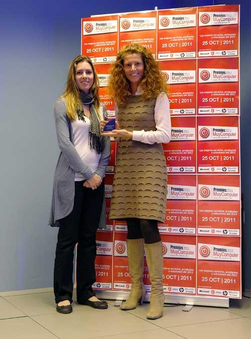 Penélope Martiñán, Premios MuyComputer 2011