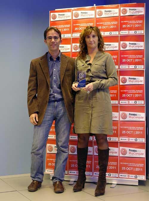 premiosMC 11 rosadiaz Fiesta de entrega de los Premios MuyComputer 2011