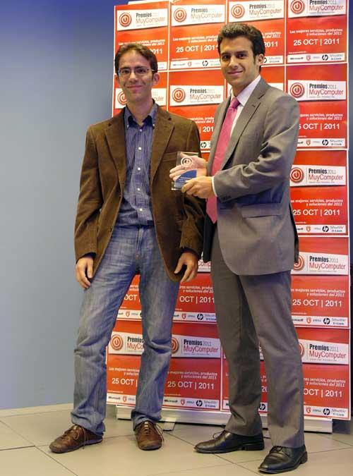premiosMC 12 alejandrosanz Fiesta de entrega de los Premios MuyComputer 2011