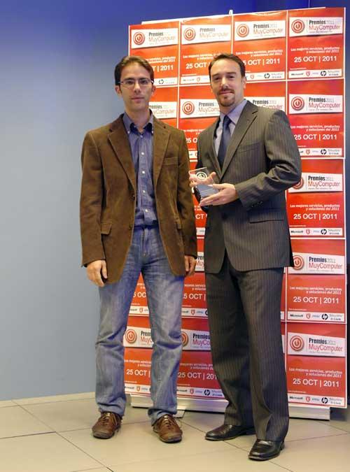 premiosMC 13 davidnegretems Fiesta de entrega de los Premios MuyComputer 2011