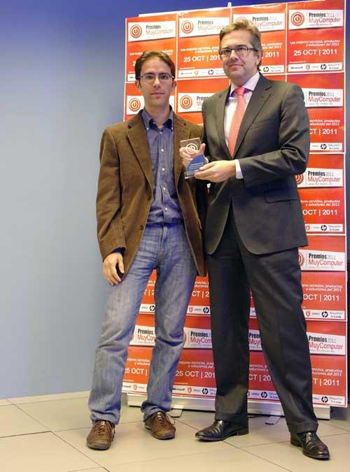 José Luis Cuerda, Premios MuyComputer 2011
