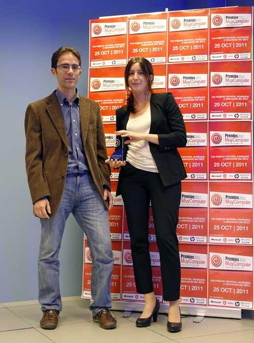 premiosMC 15 katiaarjona Fiesta de entrega de los Premios MuyComputer 2011