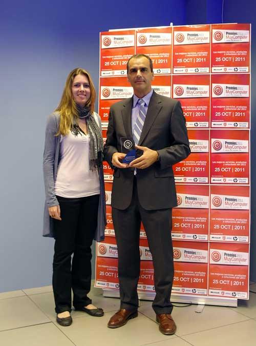 Luis Miguel García, Premios MuyComputer 2011