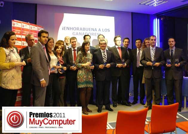 Fiesta de entrega de los Premios MuyComputer 2011