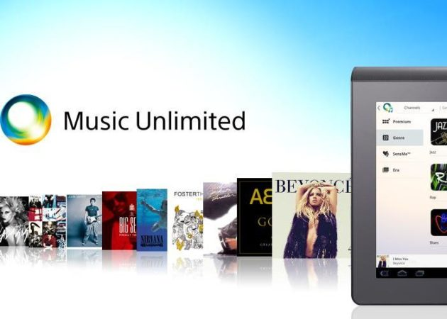 Sony Music Unlimited llega a los tablets Android