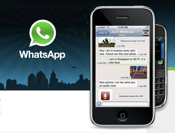 WhatsApp para iPhone, iPod touch y iPad gratuito sólo hoy