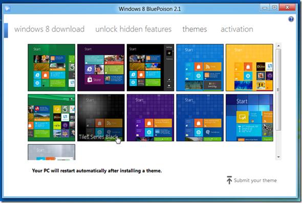 windows blueposion Descubre características ocultas en Windows 8 con BluePoison