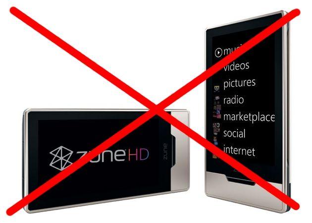 Microsoft dejará de fabricar y vender Zune HD