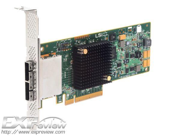 Controladora LSI SAS / SATA 12 Gb/s, doble rendimiento: 3.106 Mbytes/s