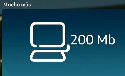 Movistar ofrecerá en breve conexiones de fibra de 200 megas