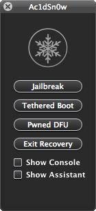 Jailbreak iOS 5 / 5.0.1 en Mac con Ac1dSn0w 35
